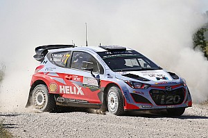 WRC Race report Hyundai Motorsport secures top-four finish as all four cars complete Rally Poland