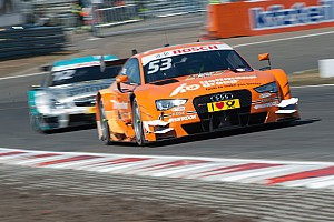 DTM Qualifying report Audi driver Jamie Green on third row of the grid