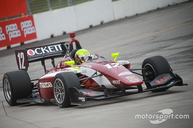 Pigot nabs Milwaukee pole with new track record
