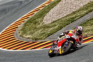 Repsol Honda resume testing in sweltering Italy