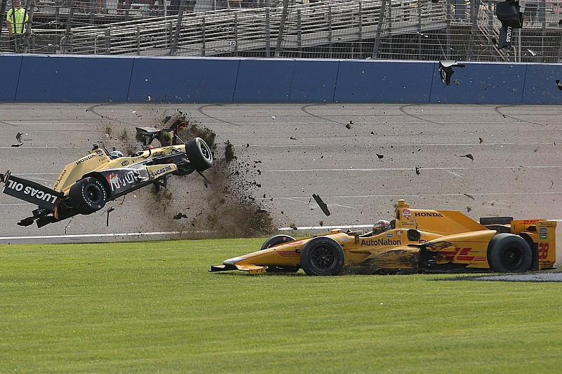Defending Iowa winner Hunter-Reay reflects on 2015 struggles