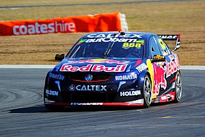 V8 Supercars Qualifying report Mostert, Lowndes share Queensland V8 poles
