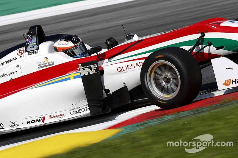 Rosenqvist holds on from Giovinazzi for second Spielberg win