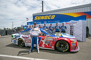 Clean sweep: AJ Allmendinger earns the pole at the Glen