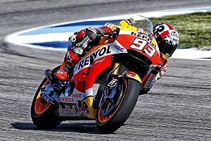 MotoGP Qualifying report Marquez and Pedrosa complete perfect 1-2 in qualifying for the Indianapolis GP