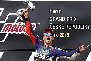 Brno MotoGP: Lorenzo seizes points lead after dominant win