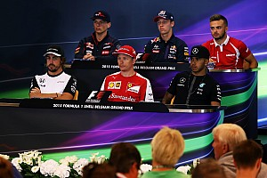 Belgian GP: Thursday's press conference