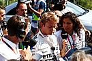 Belgian GP: Rosberg fastest but suffers frightening tyre failure