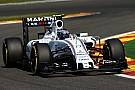 Bottas qualified third and Massa seventh for tomorrow's Belgian GP