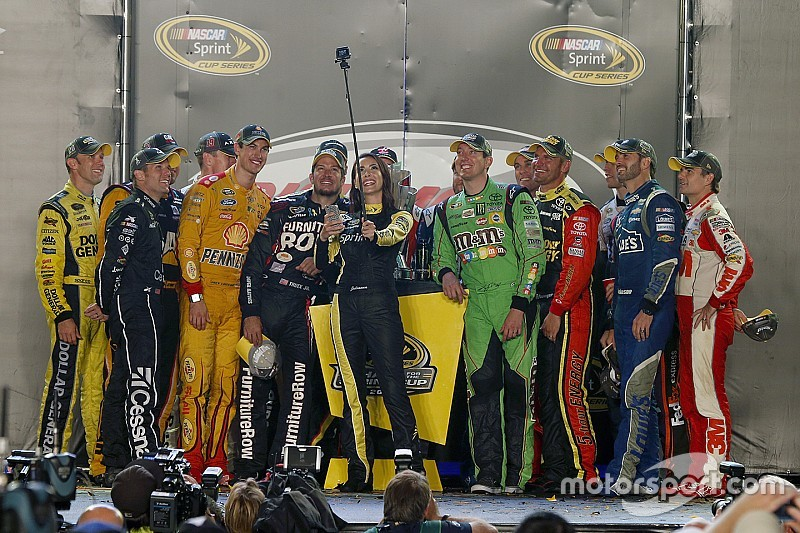 El 'Chase for the Sprint Cup' quedó completo
