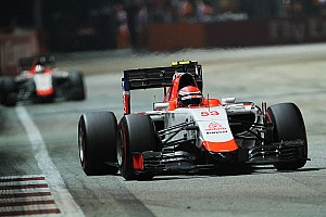 Formula 1 Race report Alexander Rossi debuts at Singapore GP