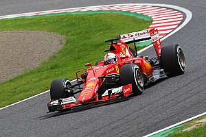 Formula 1 Qualifying report Second and third row for the Scuderia Ferrari at Suzuka