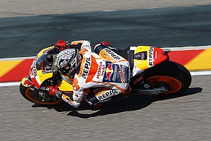 "Marquez admits to ""lack of patience"" after Aragon tumble"