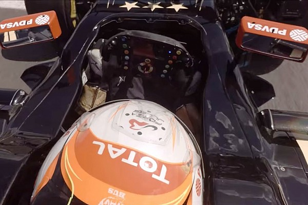Dê uma volta em Brands Hatch a bordo da Lotus de Grosjean