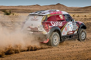 Cross-Country Rally Leg report Al-Attiyah takes Rally Morocco lead as Sainz stops