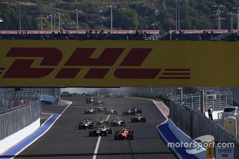 إلغاء السباق الأوّل للجي بي 3 بسبب الضرر على الحاجز الجانبي لحلبة سوتشي