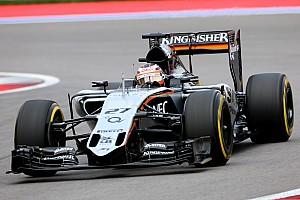 Force India elated with season-best qualifying