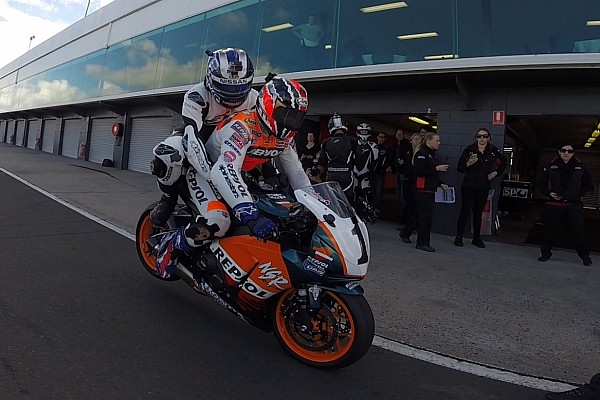 V8 Supercars Analysis Insights with Rick Kelly: My ride on a MotoGP bike