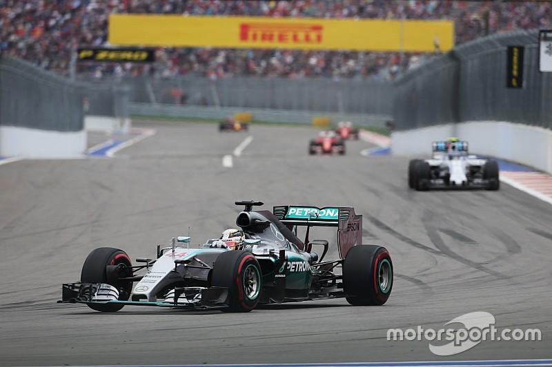 F1 plant 'live' meten van bandenspanning in 2016