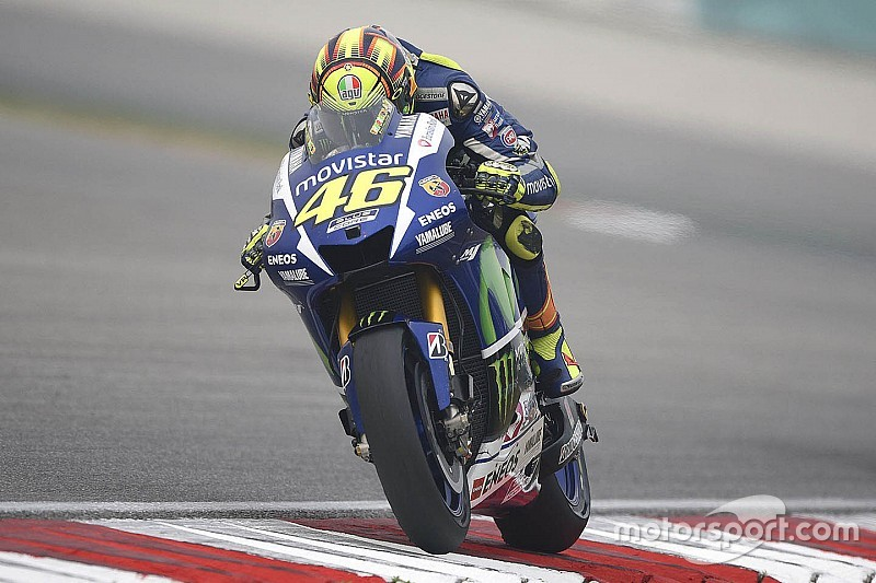 Rossi secures front row start in Sepang