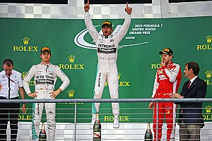 Formula 1 Race report US GP: Hamilton claims third world title, wins crash-filled race