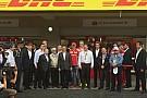 El presidente de México visita el Autódromo Hermanos Rodríguez