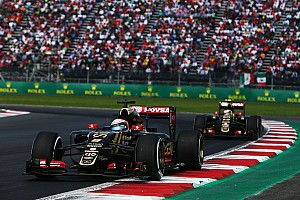 Formula 1 Race report Mexican GP: Grosjean and Maldonado took the chequered flag just 0.6 seconds apart