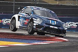 Global Rallycross Race report Scott Speed wins first Global Rallycross Championship title for Volkswagen Andretti Rallycross