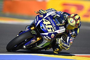 MotoGP Practice report Yamaha starts action at Spanish showdown