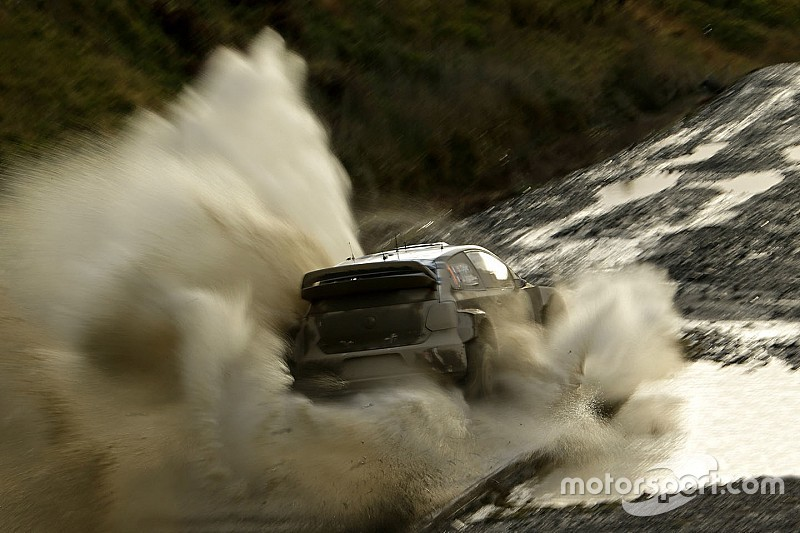 Wales WRC: Ogier increases lead over Meeke as Day 2 concludes