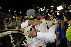 NASCAR Sprint Cup Breaking news Jeff Gordon's final ride ends with celebration but no championship