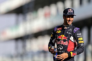 "Formula 1 Breaking news Ricciardo ""grateful"" for tough 2015 season"