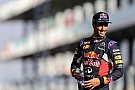 "Formula 1 Ricciardo ""grateful"" for tough 2015 season"