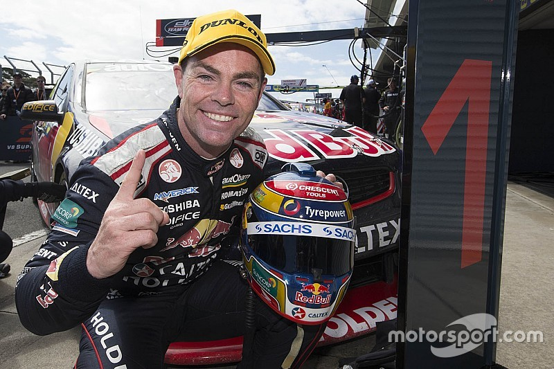 Lowndes wins fifth Barry Sheene Medal