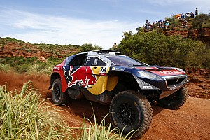 Dakar Stage report Dakar Cars, Stage 3: Loeb extends lead with second win in a row