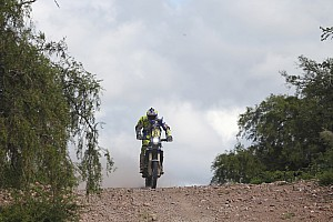 Dakar Stage report Duclos keeps Sherco TVS in top five, Santosh recovers in stage three