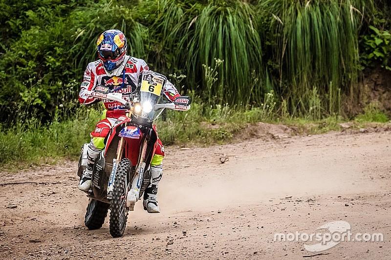 Dakar motoren: Barreda slaat terug en herovert leiding