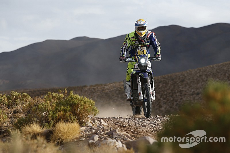 Sherco TVS duo in top 10 at the end of stage seven