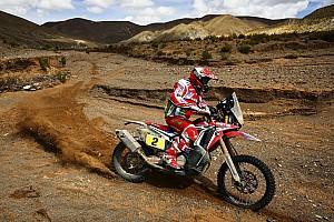 Dakar Interview Goncalves keeps Dakar lead after stopping for injured Walkner