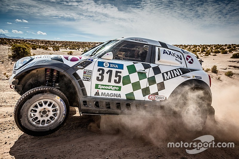 Hirvonen relishes the dunes:
