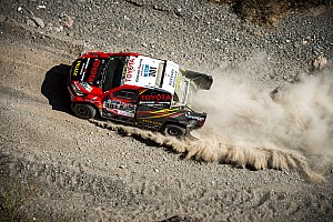 Dakar Breaking news De Villiers hits out at stage suspension: