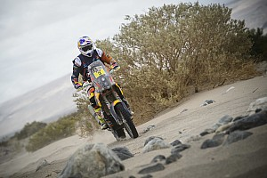 Dakar Stage report Dakar Bikes, Stage 11: Price closes on victory, Goncalves crashes out