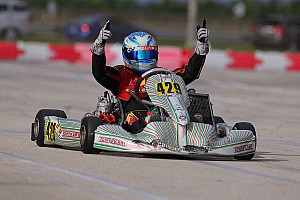 Kart Breaking news Garrison grabs ROK Shifter honors in FWT opener