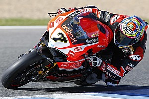 World Superbike Testing report The Aruba.it Racing - Ducati team starts its 2016 campaign with a two-day test in Portimão