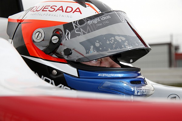 Indy Lights Testing report Rosenqvist sweeps second day of Lights test at Homestead