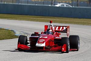 Indy Lights Résumé d'essais Felix Rosenqvist le plus rapide à Homestead-Miami