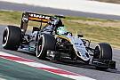 F1巴塞罗那测试第三天: 胡肯伯格最快,巴顿烧车