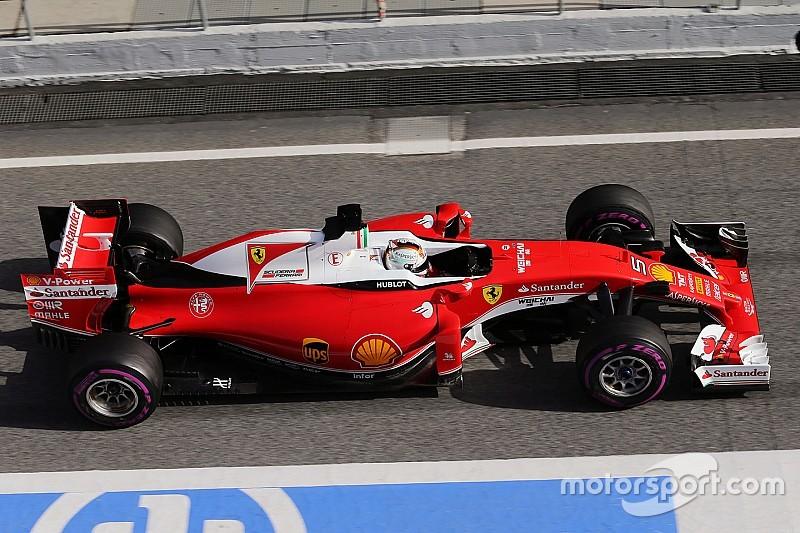 2016年F1第一次测试: 数字解析