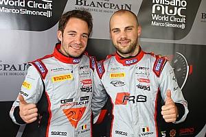 Blancpain Sprint Raceverslag Vervisch / Vanthoor wint Blancpain Sprint-hoofdrace in Misano
