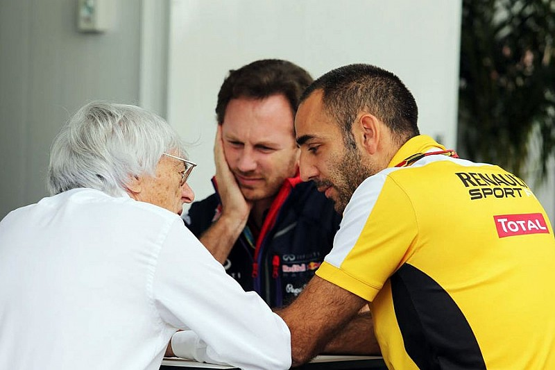 Екклстоун чекає альянсу Renault і Лотус